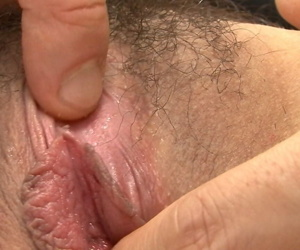 Japanese cutie Mari Sasaki gets her flimsy pussy banged to the fullest extent a finally sucking fro 3some