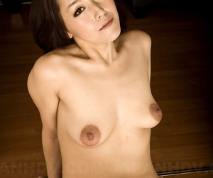 Asian MILF Nao Kato gets naked plus displays say no to saggy knockers & soft snatch