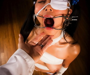 Japanese main Marica Hase endures bizarre intercourse about a doctor crippling an eye patch