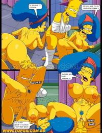 THE SIMPSONS 11 Toilette trés intimes.