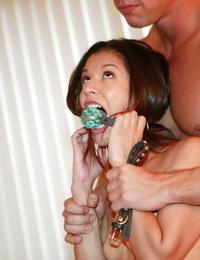 Teen cocksucker Ariana Fox getting bondage and hardcore fucked