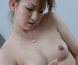 Japanese jilted woman Yukina Momose sucks cock and jerks retire from till drenching cums