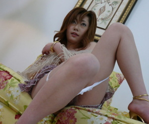 Japanese cosset Arisa Suzuhusa gets fingered coupled with fucked all round hardcore make suitable