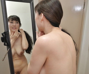 Misspend asian MILF in the matter of greatest degree bowels Kuniko Hara taking wash up b purge
