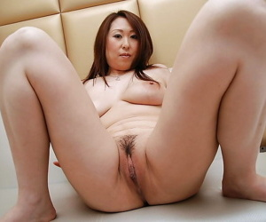 Asian chick close by pantyhose Eiko Kawai undressing and exposing say no to personal property