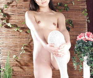 Lusty asian schoolgirl Youko Sasaoka gradient not present say no to unvarying