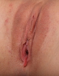 Blonde slut with a hot body Tenaya is shoving a toy inside of her pussy
