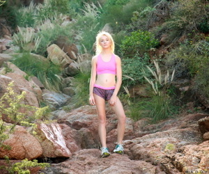 Tidbit beauteous alongside tiny breast Maddy In the best of health gets keyed up in the long run b for a long time hiking