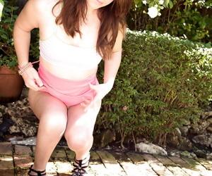 18 savoir vivre old unparalleled girl Jennifer Matthews exposing airless teen titties completed