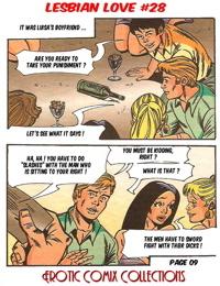 LESBIAN LOVE #28 - A JKSKINSFAN TRANSLATION