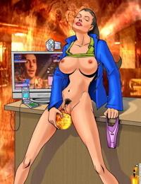 Sinful Comics - Angelina Jolie / Tomb Raider / Mr. and Mrs. Smith - part 3