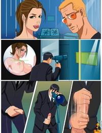 Sinful Comics - Angelina Jolie / Tomb Raider / Mr. and Mrs. Smith - part 4