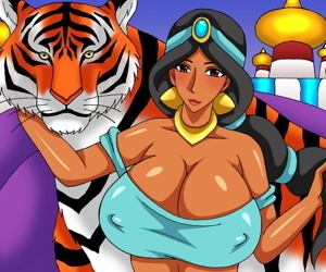 Dominate Added to Someone\'s skin Monster - 1001 Nights
