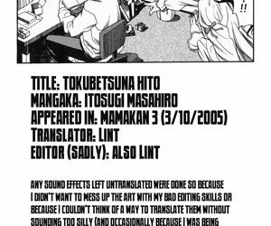 Tokubetsu na Hito - My Knockers Guy