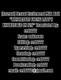 Sexual Excitement Milk Hall - Honorable Young Ladys Knowledge On Sex