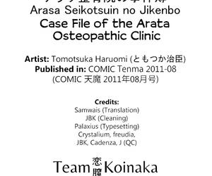 Arasa Seikotsuin thimbleful Jikenbo - Case File for a catch Arasa Osteopathic Infirmary