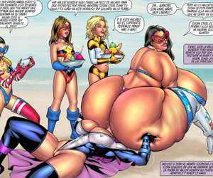 SuperHeroineComixxx - Major Wonder Beach Bod