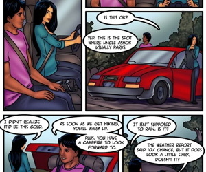 Savita bhabhi: Camping in the cold