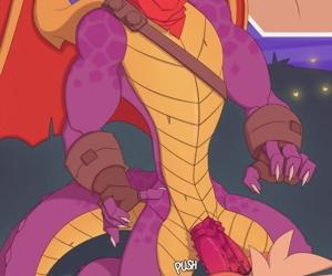 Adult Spyro Comic