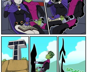 Incognitymous - Teen Titans - Emotion Sickness - accoutrement 2
