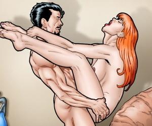 Leandro Comics: Tony Starks smallish Mary Jane