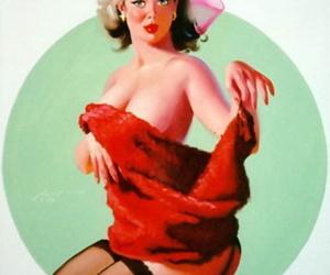 Donald Rust pinup art