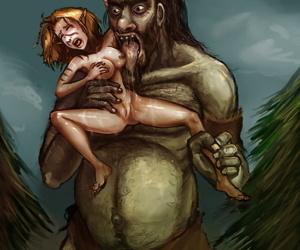 Fausties monster mugging gallery
