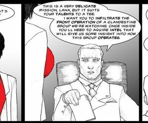 Spying apropos Lana Cases # 1-4