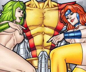 Colossus- Jean Grey- added to Polaris threesome Fixing A handful of