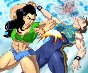 Laura Matsuda Story Garb vs Chun-Li Alpha