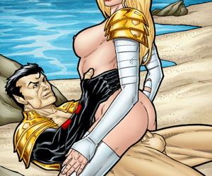 Emma Violates and Namor