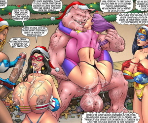 SuperHeroineComixxx - Merry Christmas Porkum