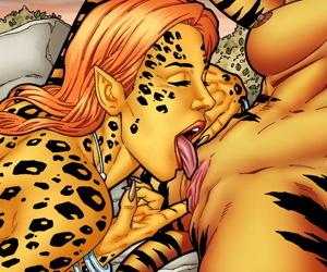 Leandro Comics Tigra and Cheetah