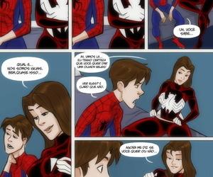 Ultimate Spider-Man XXX 1 - Spidercest with Jessica Drew