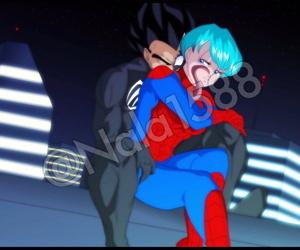 Spiderman encounters Dragon Ball Z