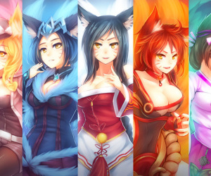 League of Legends - Ahri Pantyhose - accoutrement 2