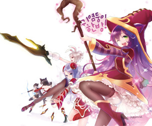League of Legends - Ahri Pantyhose