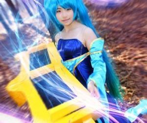 Epic Sona Cosplay Collection - part 18