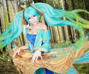 Epic Sona Cosplay Collection - part 8