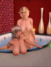 Bernadette and Stephanie - Catgirl Care