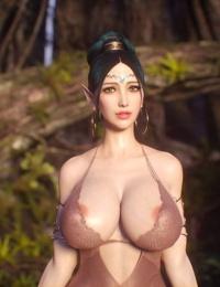-Elf Slave 2-Concept