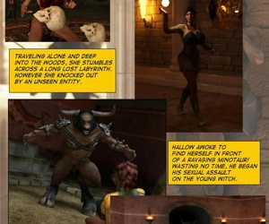 Escape from the Lair of the Minotaur - Story and pics