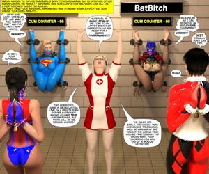 New Arkham for Superheroines 6 - Jizz Tournament - part 2