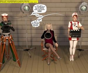 Fresh Arkham for Superheroines 6 - Jism Tournament - part 3