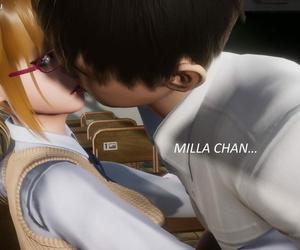 Milla on the street Ten School Days - part 2