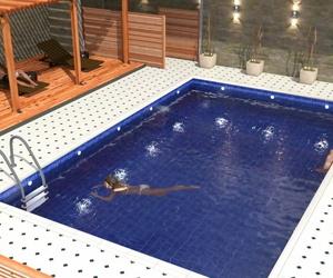 Pool Temptation