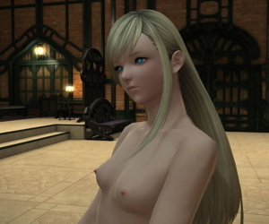 FF14 - Minfilia 1st reflect
