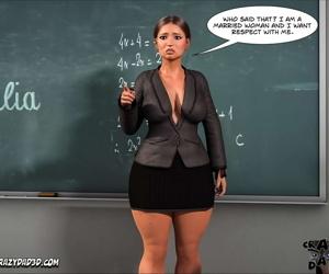 Spank꧇ Teacher Marilia - part 2