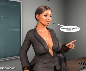 Spank꧇ Teacher Marilia
