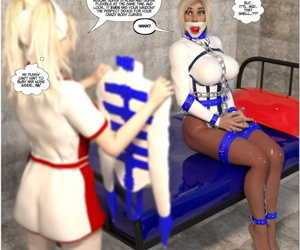 Fresh Arkham For Superheroines 1 2nd Edition - Humiliation and Degradation of Power Girl - part 2